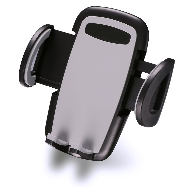 Wakrays Universal Air Vent Smartphone Car Mount Holder for iPhone 6 / More. One push-button release design allows for one-hand docking and removal of your cell phone. Nice and elegant design, easy to install, no tools needs. Three mounting options available (Windshield, Dashboard and air vent). Its small design, unobtrusive arms, and placement on the air vent means that your windshield and phone screen will be open and visible. Car Smartphone Holder padded extendable arms can fit mobile...