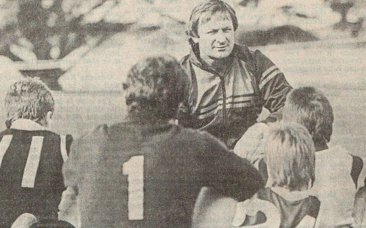 In light of the return of our exclusive Kevin Sheedy football camp here is a flashback of Kevin coaching in June 1987. The program has a fantastic history starting back in 1983 and we are thrilled to be working with Sheedy once again at Brens Oval, Parkville. Read more on our most recent blog post here http://bit.ly/1HcZuDM