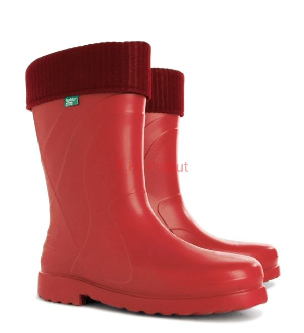 #Red #women's #wellies !, super #comfortable and #soft. Great to #wear in #cold #weather.#Rain #boots, Show your style!