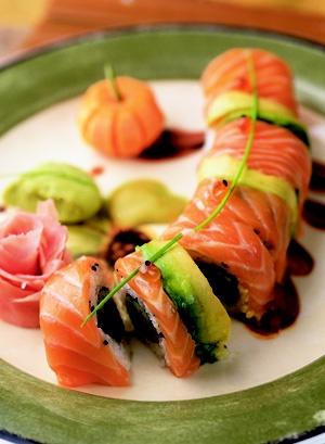 Sushi fanatic!