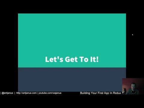 Building your first React + Redux Application (#1): Intro and setting up environment - YouTube