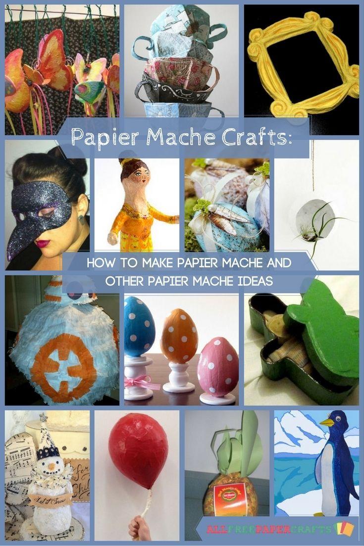 36 best how to make paper mache images on pinterest. Black Bedroom Furniture Sets. Home Design Ideas