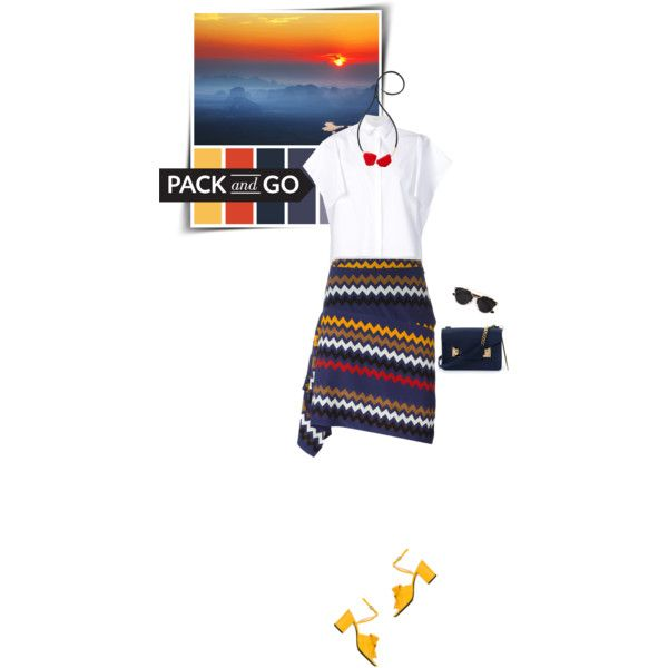 Pack &Go: Mexico City by sophiek82 on Polyvore featuring Delpozo, MSGM, N°21, Sophie Hulme, Marni and Christian Dior