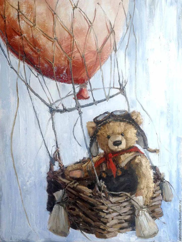 включал чтобы медвежонок на воздушном шаре картинки вину