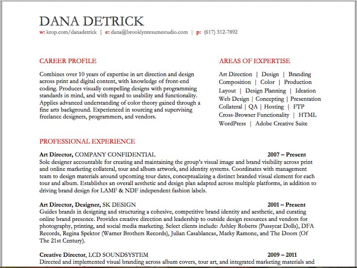 creative director resume resume studio