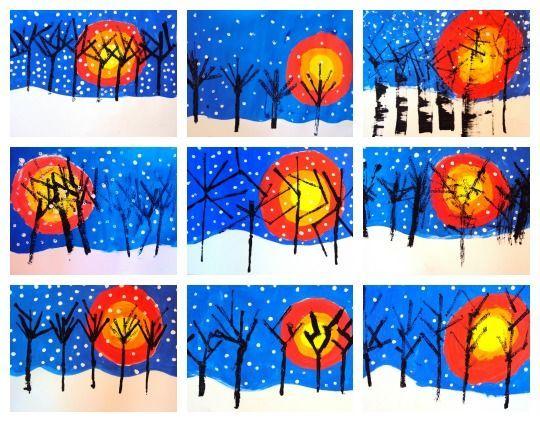 paisatge d'hivern