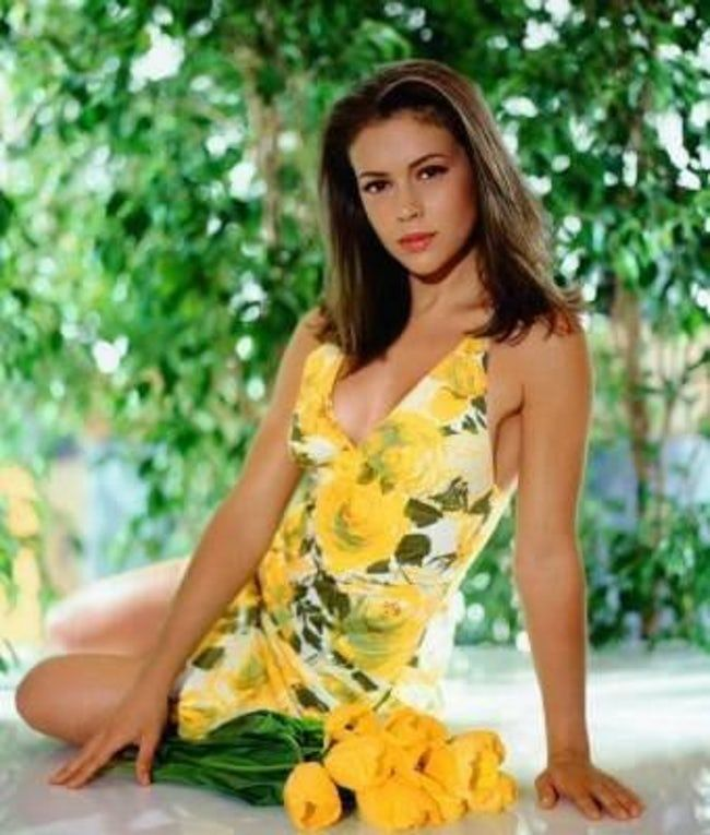 Young Alyssa Milano in Yellow  is listed (or ranked) 24 on the list 30 Pictures of Young Alyssa Milano