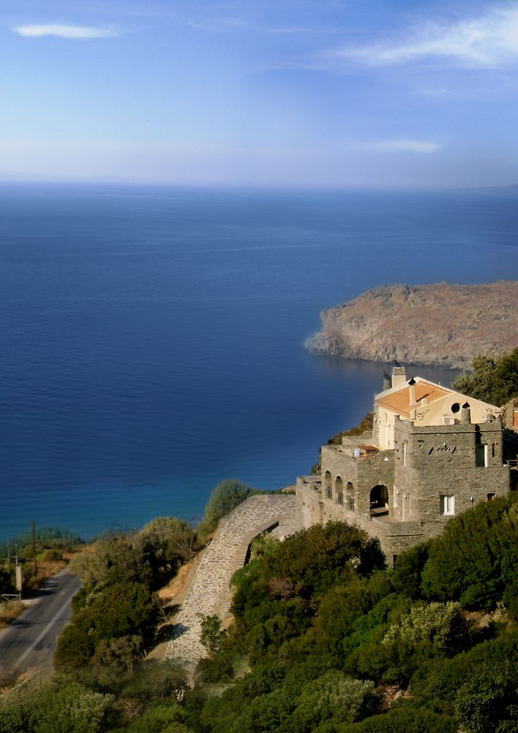 A special place to visit in Andros  www.aegeancastle.gr