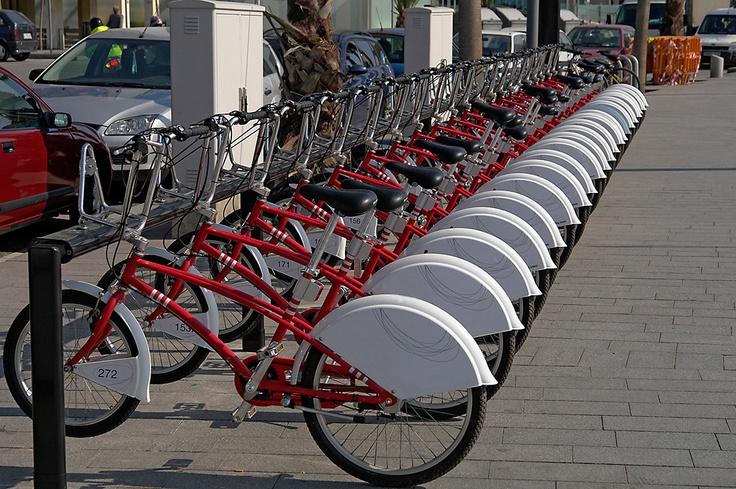Aluguel de bicicletas. Tendência nas grandes cidades.