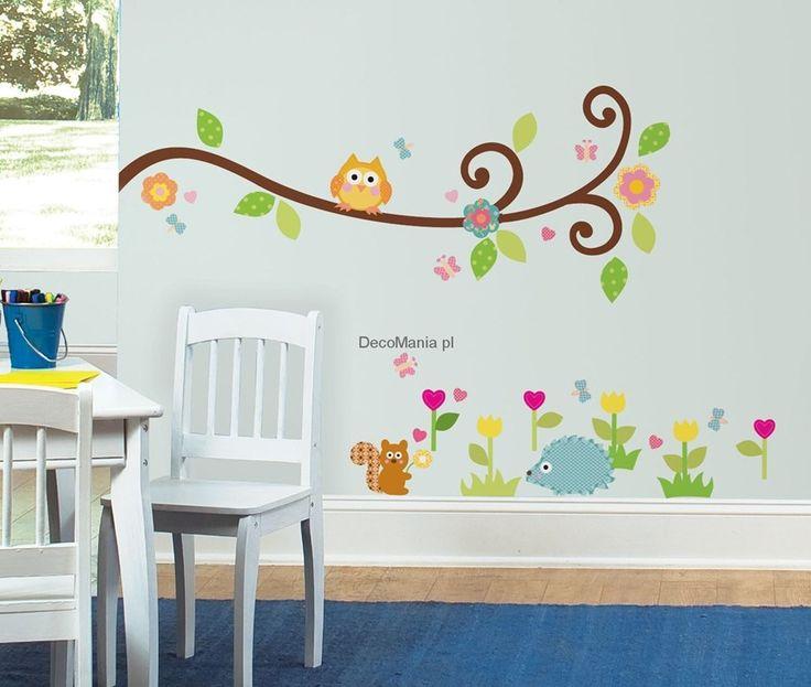 Naklejki dla dzieci RoomMates RMK1861SCS - Kwitnąca gałązka