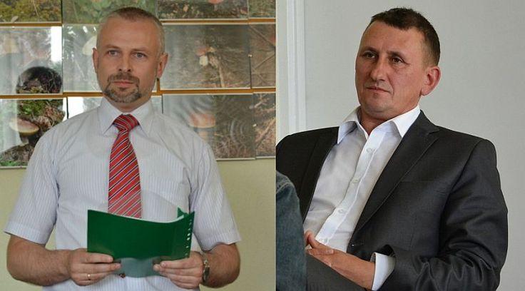 Mariusz Czaban (z lewej) i Tadeusz Tokarewicz