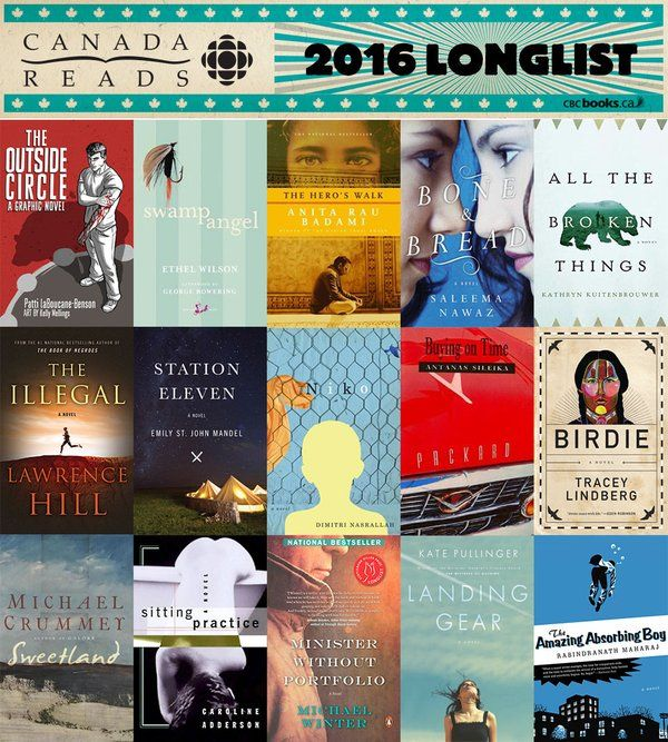 47 best new health and wellness images on pinterest book show 15 books on the cbc books canada reads 2016 longlist canadareads canlit fandeluxe Image collections