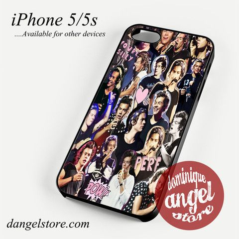 harry styles one direction collage Phone case for iPhone 4/4s/5/5c/5s/6/6 plus