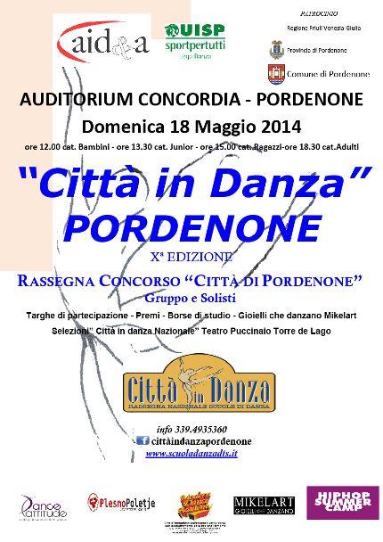 CITTA' IN DANZA PORDENONE « weekendinpalcoscenico la danza palco e web | IL PORTALE DELLA DANZA ITALIANA | weekendinpalcoscenico.it