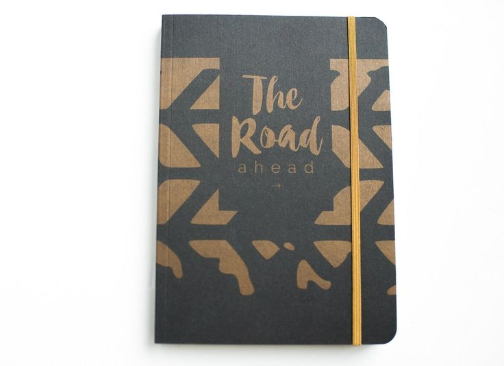 """The Road Ahead"" A5 Notebook."