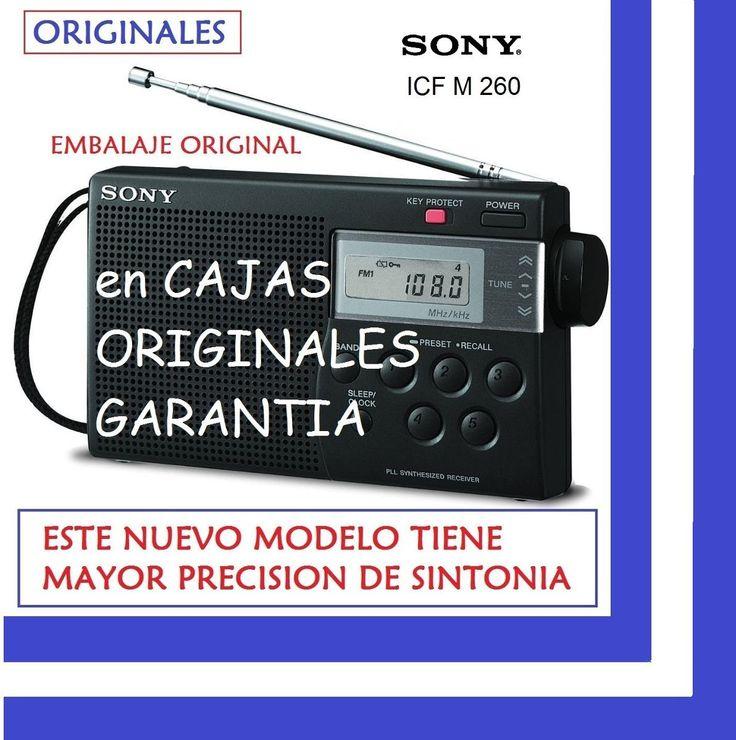 radio digital sony icfm260 am fm 15 memorias reloj sleep bli
