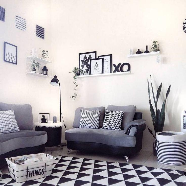 Desain Ruang Tamu Kecil Dengan Sofa Minimalis Bergaya Modern
