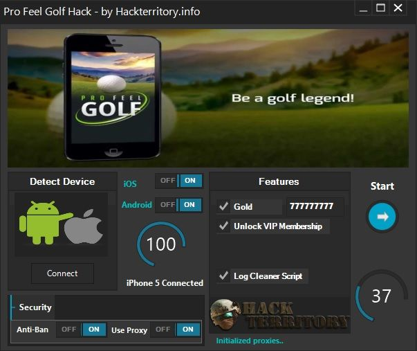 Pro Feel Golf Hack is a great hack that can generate unlimited Gold and Unlock VIP Membership. Download Pro Feel Golf Hack for free right now!