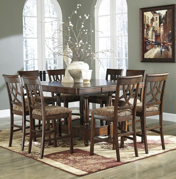 Dining Room Decor On A Budget Leahlyn Set 7 Piece