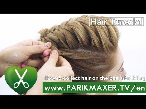 Fishtail Upstyle Braid created by Sexy Hair Master Artist Dawn Atkinson – YouTub…