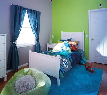 Similar to the colors for D's room,  but I THINK these are Monsters Inc Mike's Mayhem and Scream Machine.... Add Glitter & Confetti To Your Baby's Nursery With The New Disney Paint Collection   Disney Baby