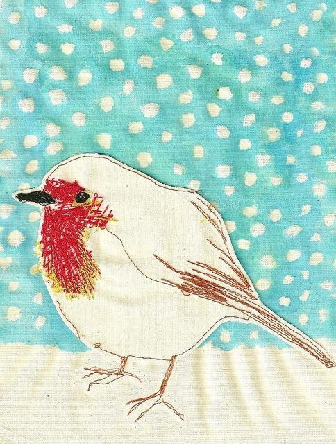 Robin Snow by Sarah Walton (She's amazing!)