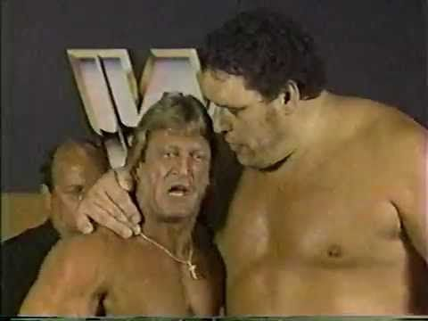 Andre The Giant & Paul Orndorff WWF Interview June 1985