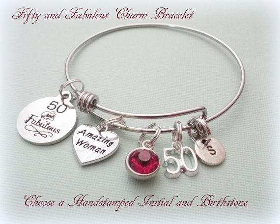 50th Birthday Gift Birthday Gift for Best by HopeisHipJewelry