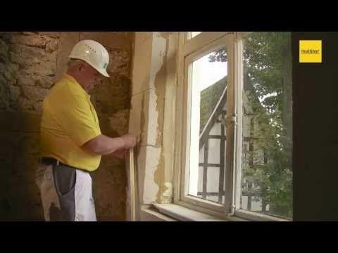 Multipor Mineraldämmplatte - Verarbeitung Innendämmung mit Lehm - YouTube