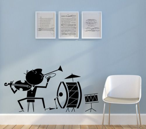 49 best images about music room on pinterest music for Room decorating ideas music