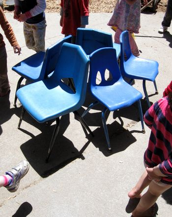 Animal musical chairs is a fun twist on the classic game, perfect for larger groups and kids who love animals.