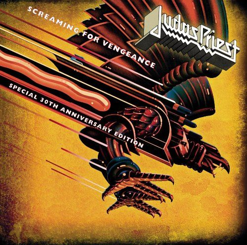 Judas Priest: Screaming For Vengeance - Special 30th Anniversary Edition (CD/DVD): one of the best pure metal albums of the '80s (or any other era). It's not thrash, and it's not hair metal, its just METAL. The anniversary edition has a bunch of live tracks, and a live DVD, it's worth getting. #judaspriest