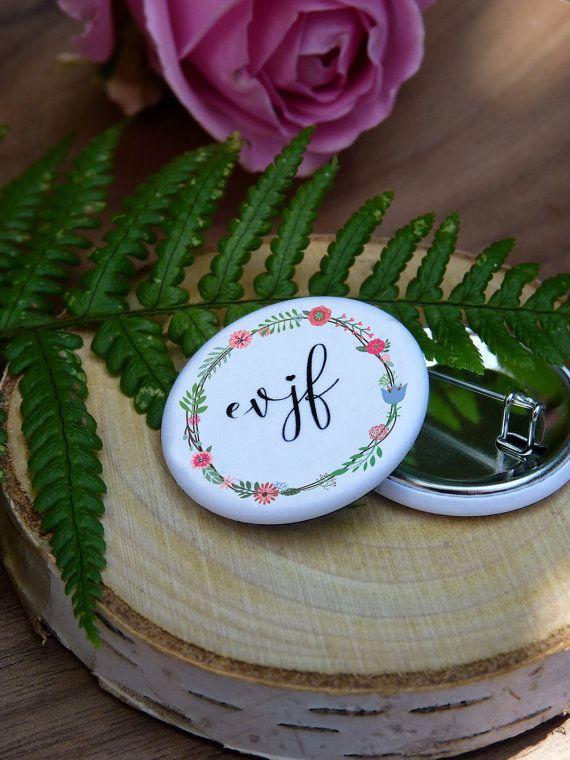 badge EVJF par latelierinspire sur Etsy