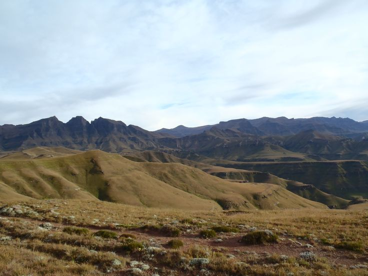 Taken from the border of Lesotho and South Africa 2350m