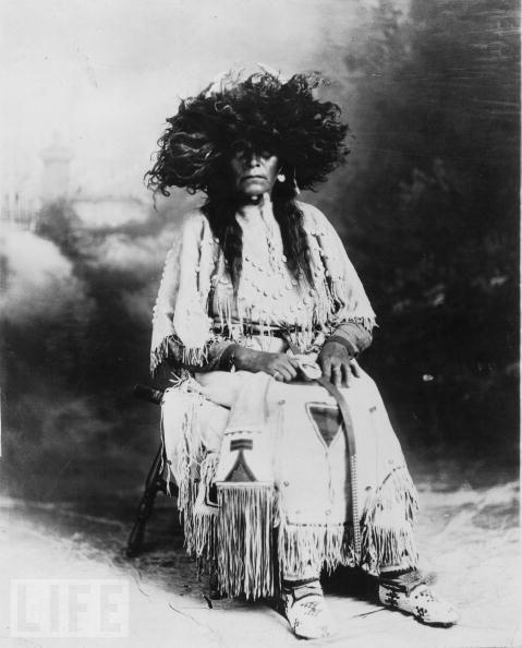 Native American Female Shaman, Circa 1880