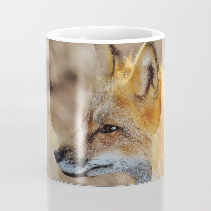 Inquisitive Mr. Fox Mug by Mixed Imagery   Society6