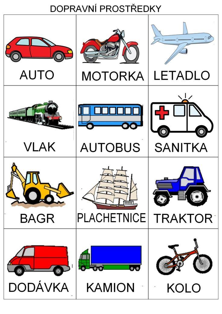 dopravní prostředky - Google Search