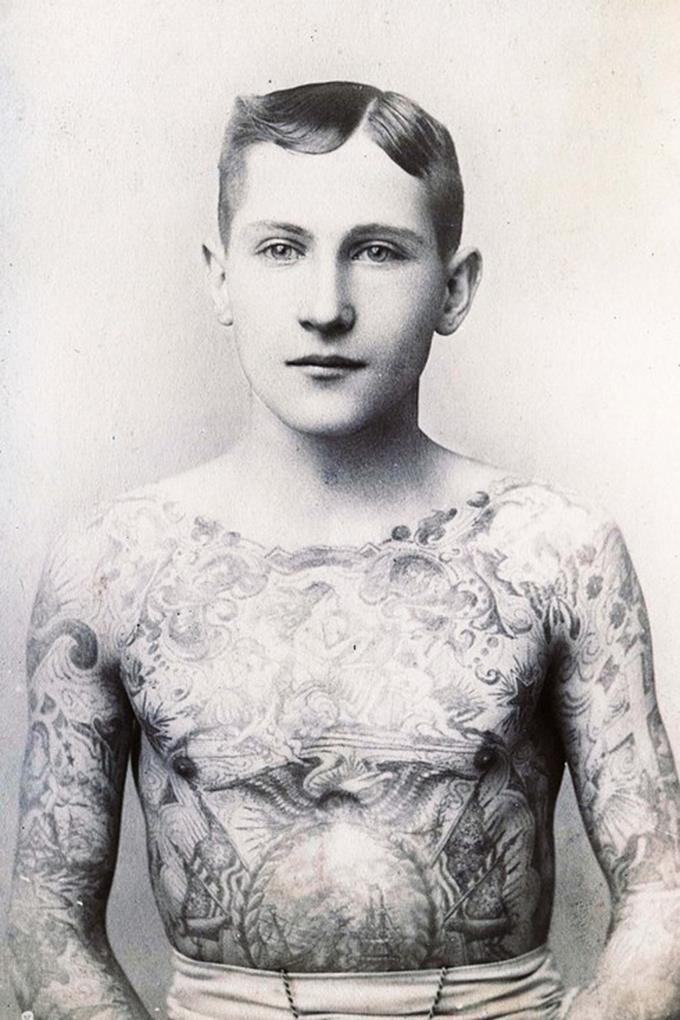15 photos vintage sur le tatouage qui montrent qu'ils avaient du style à l'époque