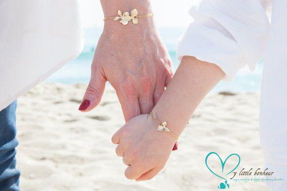 Duo de bracelets mère et fille