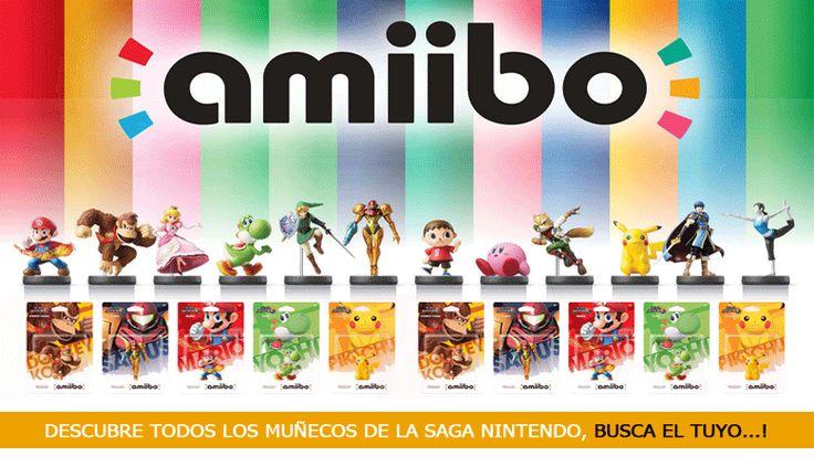 Muñecos Amiibo