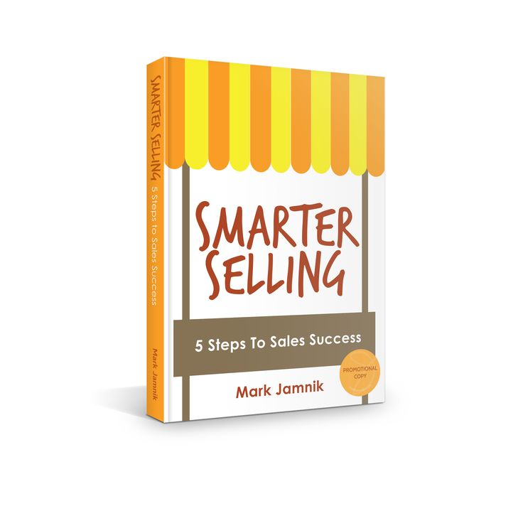 Book Cover for Mark Jamnik's Smarter Selling Book