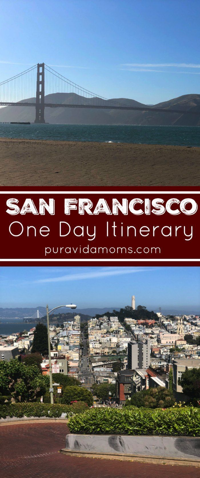 The City By The Bay Definitely Warrants Lots Of Travel Time But If You Are Like Me And Only Have One Day San Francisco Itinerary California Travel Solo Travel