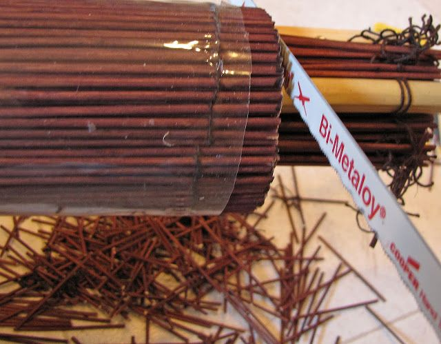 How To Cut Bamboo Blinds And Shades Diy Curtain Ideas
