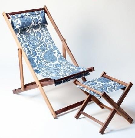 Qualicum Garden Deck Chair eclectic outdoor chairs