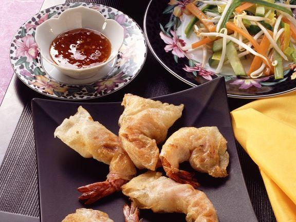 Frittierte Garnelen ist ein Rezept mit frischen Zutaten aus der Kategorie Garnelen. Probieren Sie dieses und weitere Rezepte von EAT SMARTER!