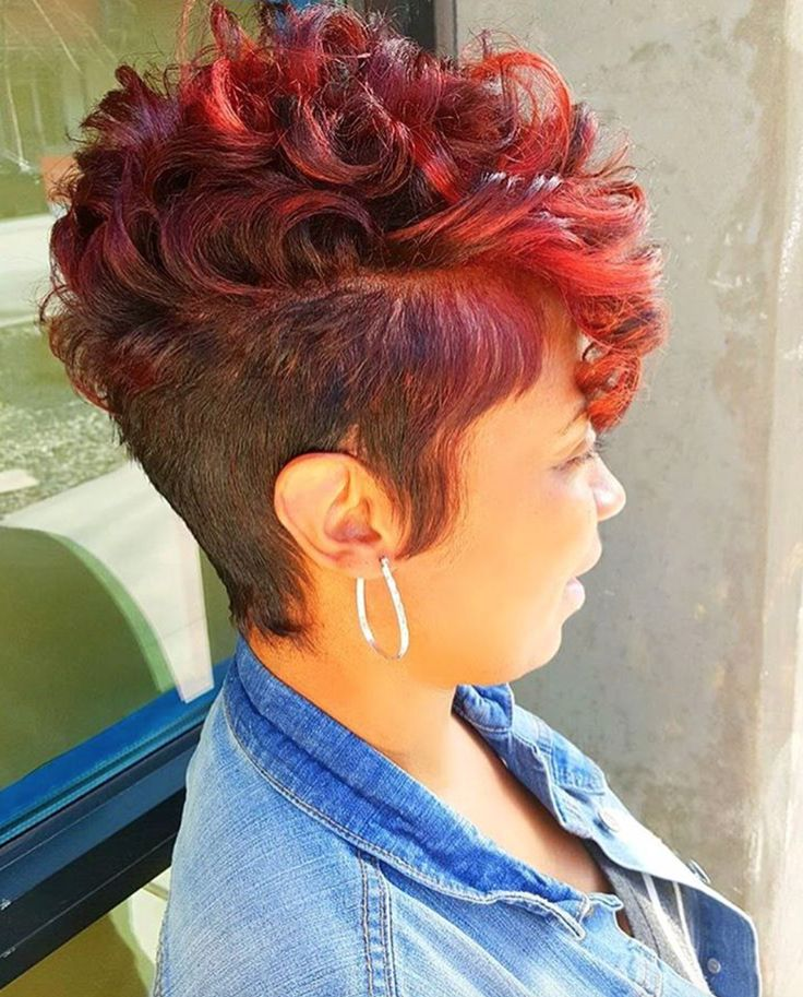 Nice cut and color via @MrsKJ5 - http://community.blackhairinformation.com/hairstyle-gallery/short-haircuts/nice-cut-color-mrskj5/