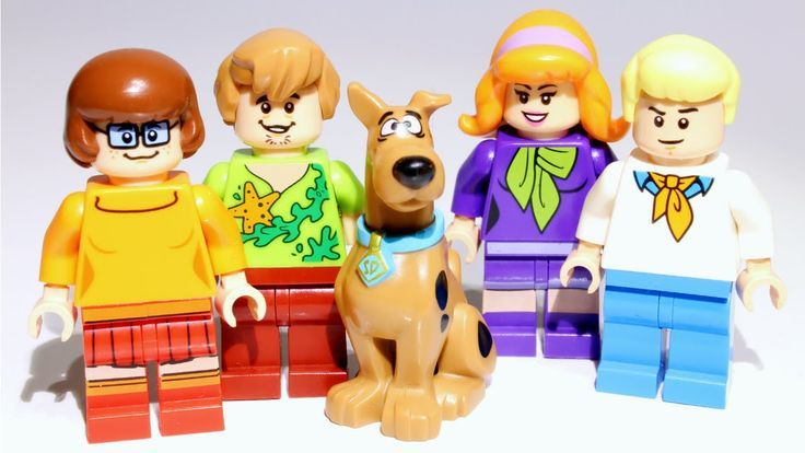 LEGO Scooby-Doo! Minifigures collection | Velma Shaggy Fred Daphne Video https://youtu.be/snJE6QRsv9c