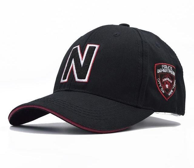 1d58cba6c32f49 3 Colors Mens Baseball Caps Brand Police Cap with N Letter Suede Baseball  Caps Women Snapback