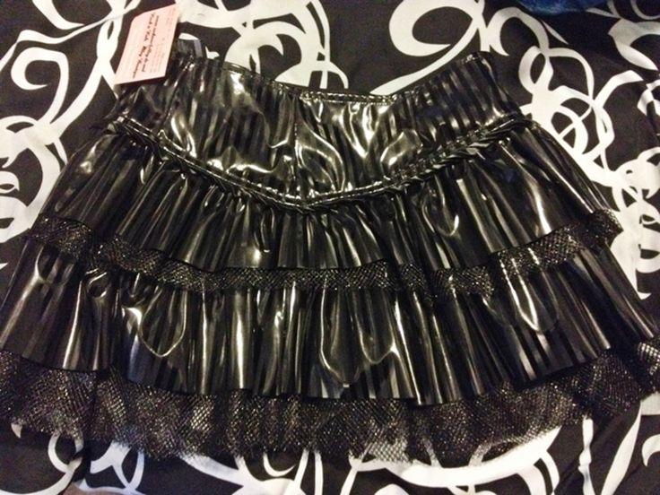 LIP SERVICE Black Diamond Dynasty mini skirt #238-300-003 - size L (size XL SOLD)