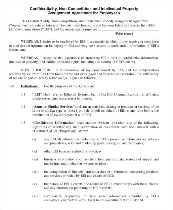 Non Compete Agreement Template Non Compete Agreement Free Template Word Pdf By Www Wonder Le Rental Agreement Templates Agreement Contract Template